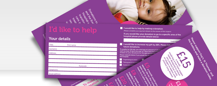 charity direct mail