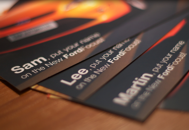 Personalising Images in Direct Mail - The Direct Mail Company