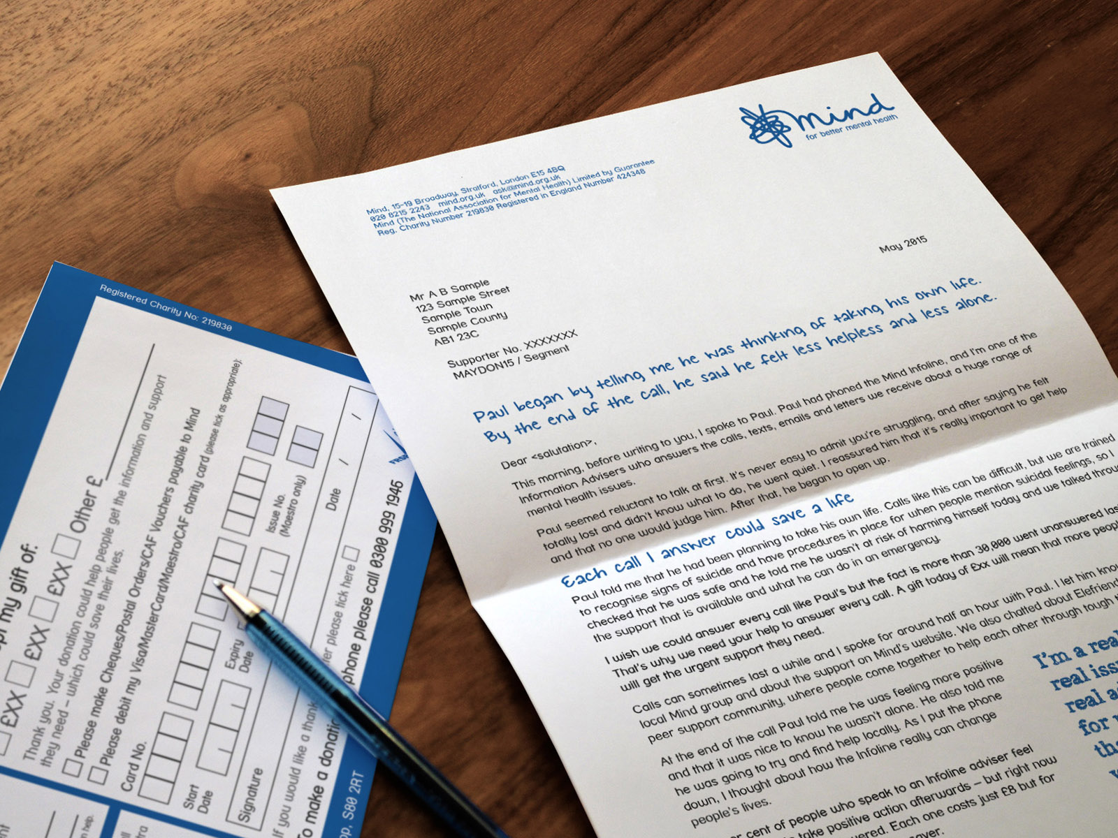 Charity Direct Mail Fulfilment Service